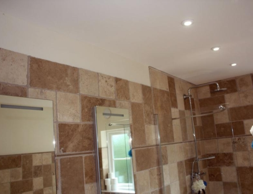 Bathroom lighting installation in Weeley, Essex