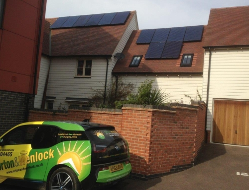 Solar PV Installation in Wivenhoe, Essex for Mr Hayward