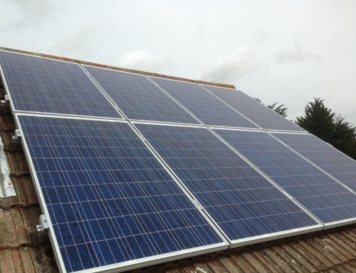 Solar PV Installation in Alresford in Essex for Mr Lyon